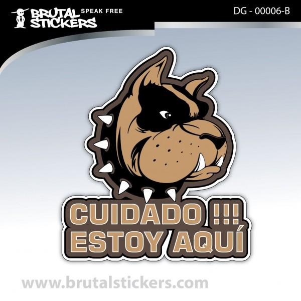 Sticker Dog on board DG - 00006