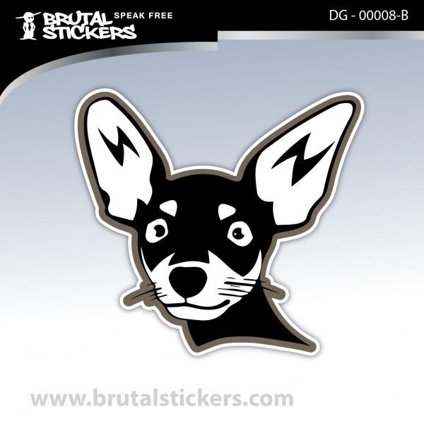 Sticker Dog on board DG - 00008