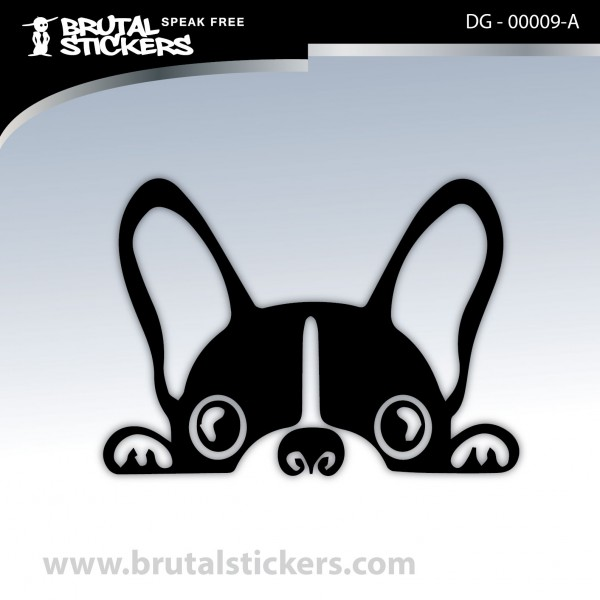 Sticker Dog on board DG - 00009