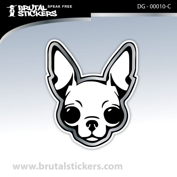 Sticker Dog on board DG - 00010