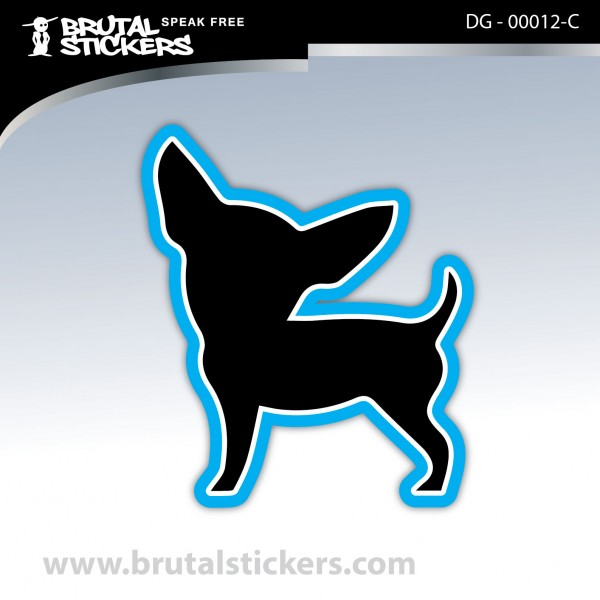 Sticker Dog on board DG - 00012