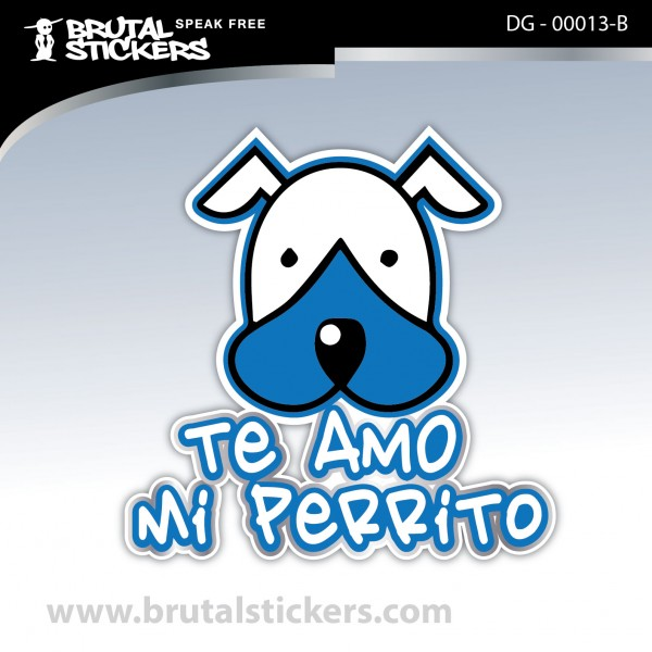 Sticker Dog on board DG - 00013