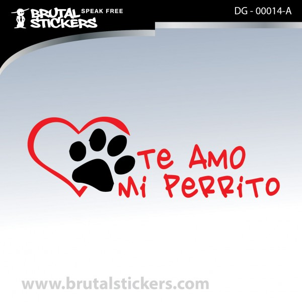 Sticker Dog on board DG - 00014