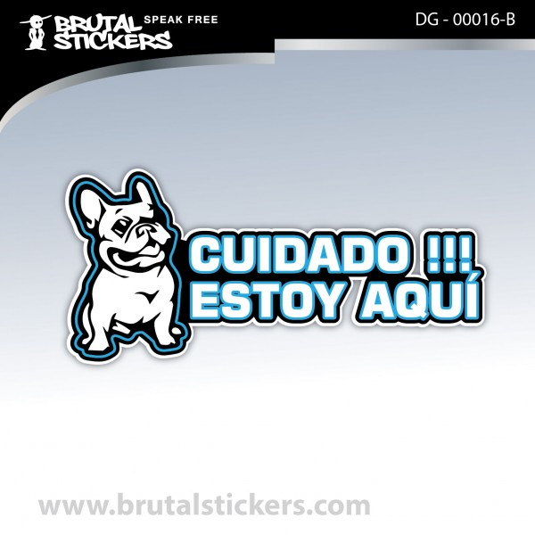 Sticker Dog on board DG - 00016