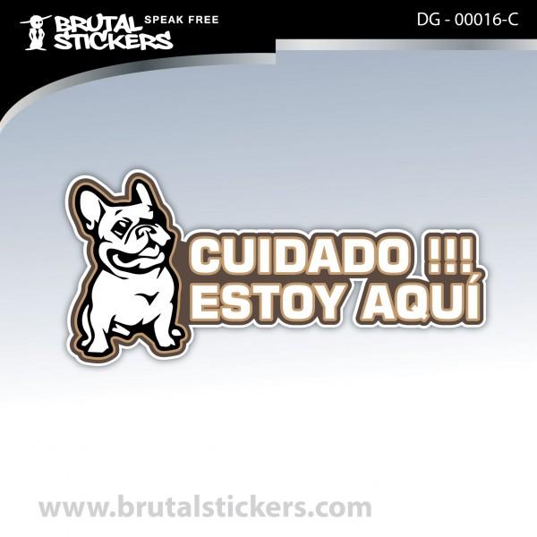 Sticker Dog on board DG - 00016
