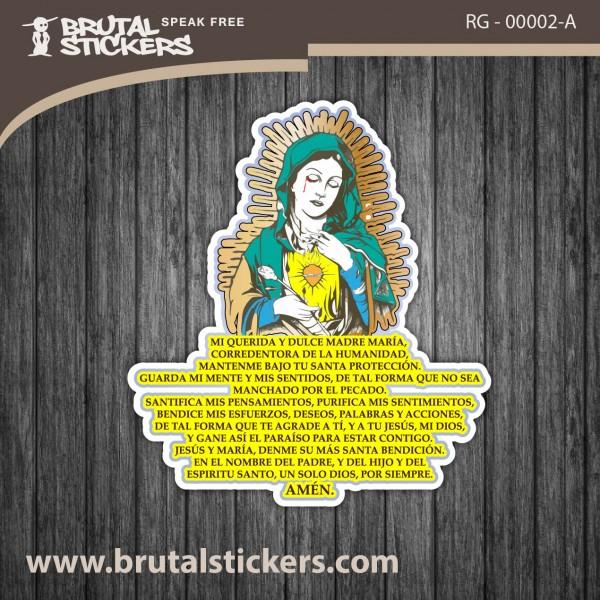 Religion Sticker RG - 00002