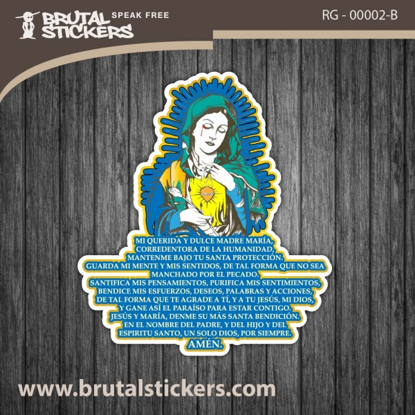 Religion Sticker RG - 00002