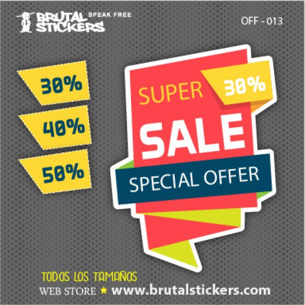 Discount Sticker OFF-013