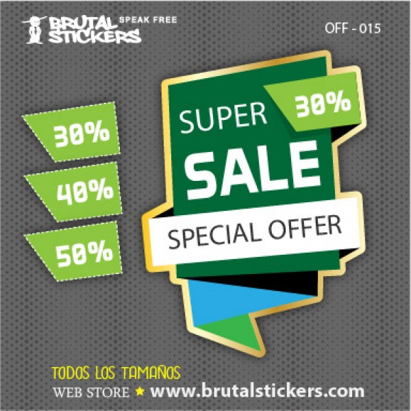 Discount Sticker OFF-015
