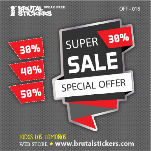 Discount Sticker OFF-016